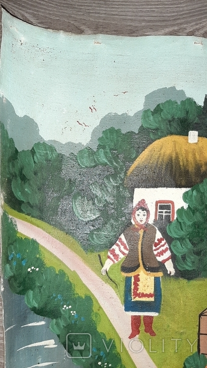 ''Не жартуй'',народный художник,варианты на тему картины Н.Пимоненко. копия, фото №5
