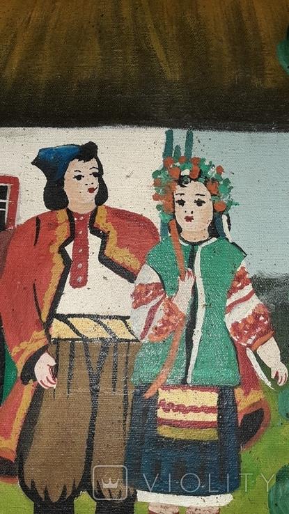 ''Не жартуй'',народный художник,варианты на тему картины Н.Пимоненко. копия, фото №8