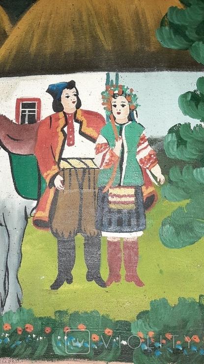 ''Не жартуй'',народный художник,варианты на тему картины Н.Пимоненко. копия, фото №9
