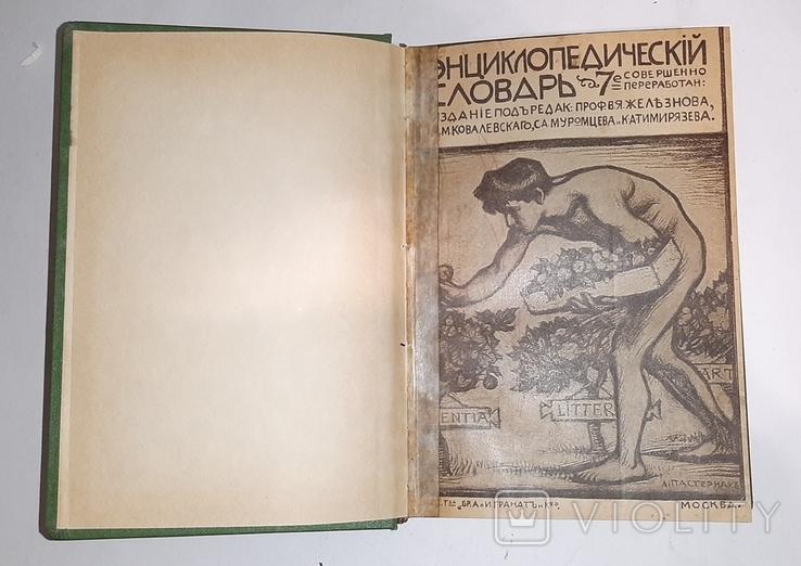 Энциклопедический словарь Гранат. Том 23, фото №7