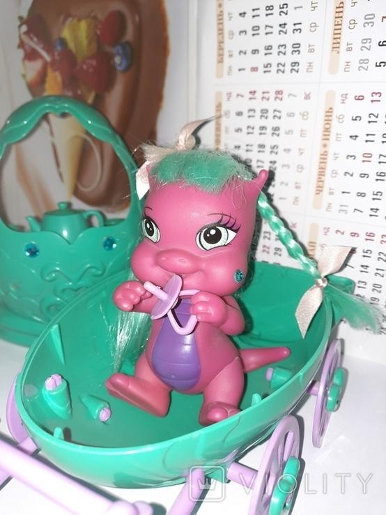 Дракон и коляскa (яйцо) трансформер Sitara из серии Mistic babies, фото №3