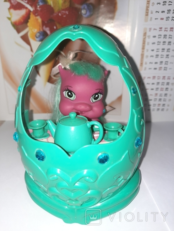 Дракон и коляскa (яйцо) трансформер Sitara из серии Mistic babies, фото №4