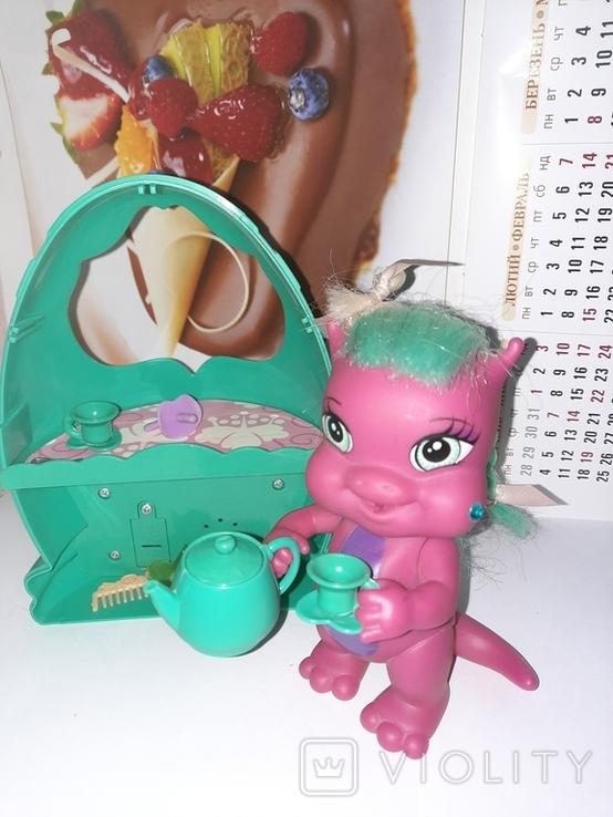 Дракон и коляскa (яйцо) трансформер Sitara из серии Mistic babies, фото №6