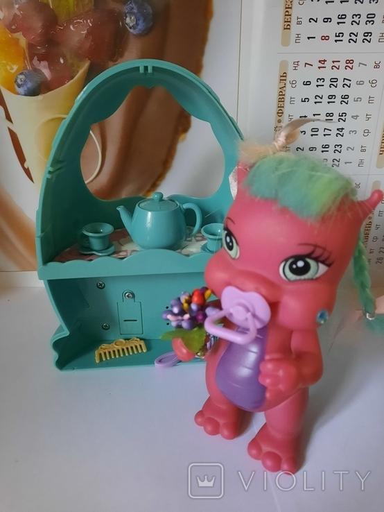 Дракон и коляскa (яйцо) трансформер Sitara из серии Mistic babies, фото №8