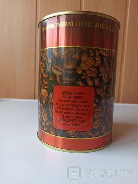 Кофе растворимый 500г 90-е., фото №3