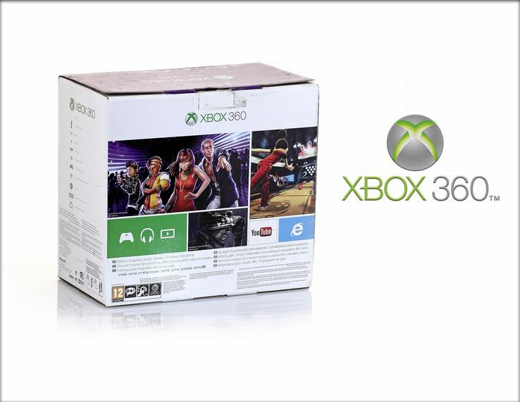 XBOX 360. 4GB плюс Kinect. Игровая приставка. Комплект с играми., фото №2