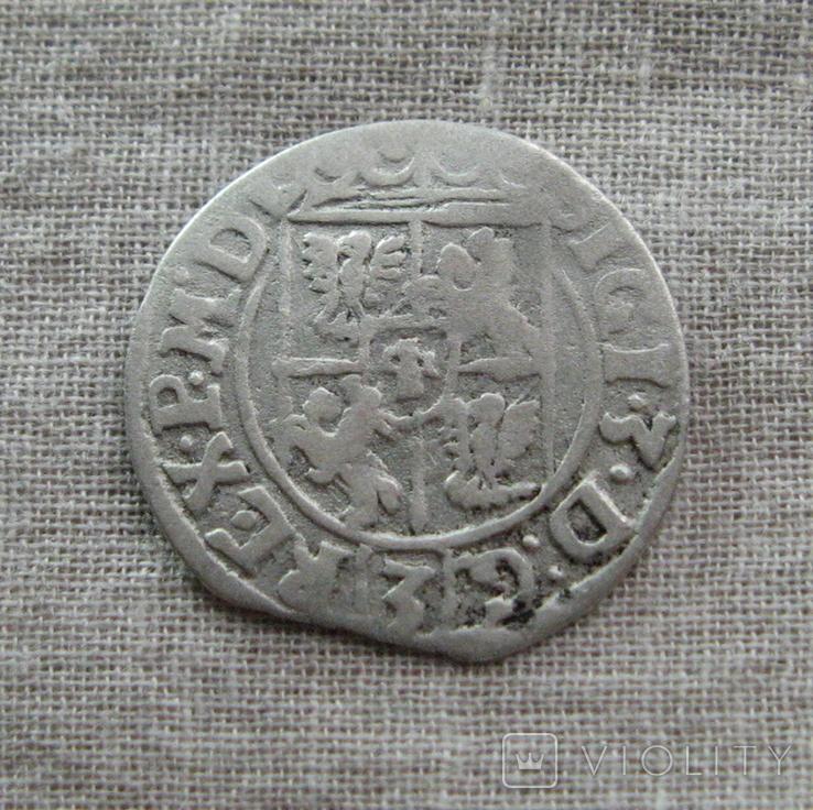 Полторак ( 1/24 талера ) 1622 года. Сиг. ІІІ Ваза ( SIGI )., фото №6