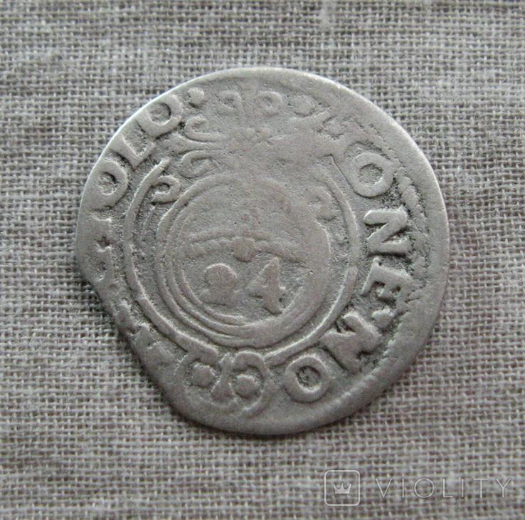 Полторак ( 1/24 талера ) 1622 года. Сиг. ІІІ Ваза ( SIGI )., фото №7