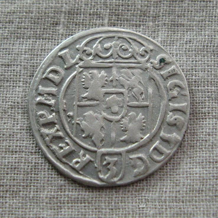 Полторак ( 1/24 талера ) 1623 года. Сиг. ІІІ Ваза. MON(E)E*NO., фото №7