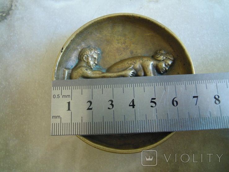 Невелика ваза, тарілочка, еротика, фото №7