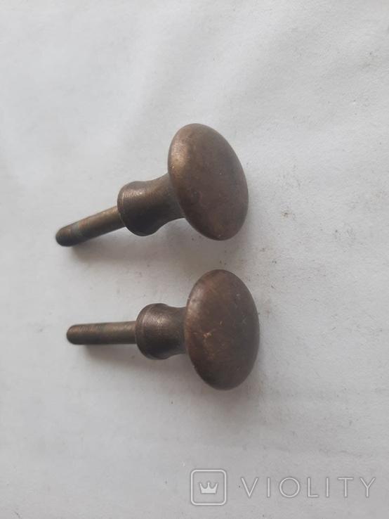 Ручки бронза (2шт), фото №4