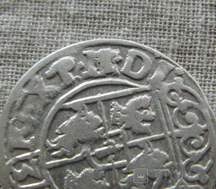 Полторак ( 1/24 талера ) 1620 года. Сиг. ІІІ Ваза. P.M(M).D.L., фото №2