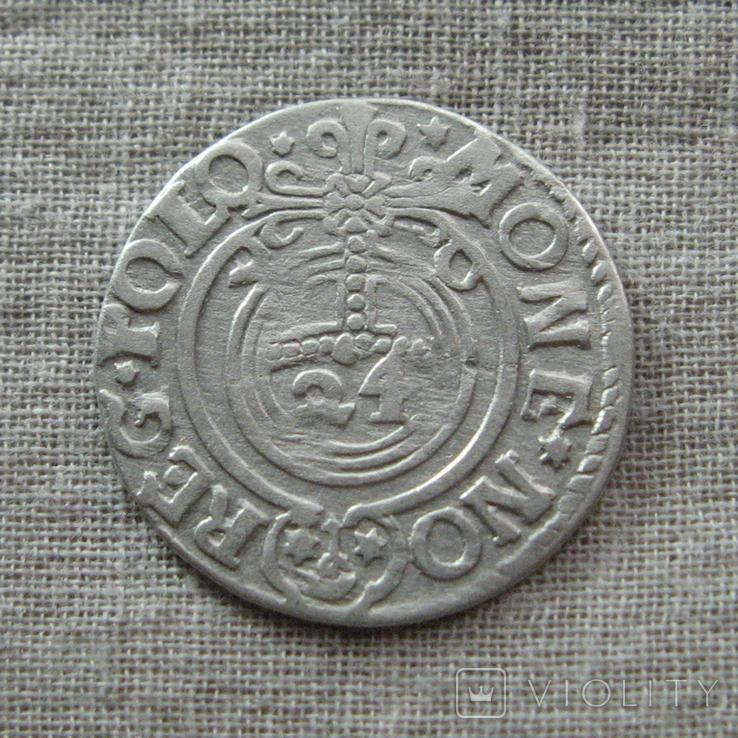 Полторак ( 1/24 талера ) 1620 года. Сиг. ІІІ Ваза. P.M(M).D.L., фото №3