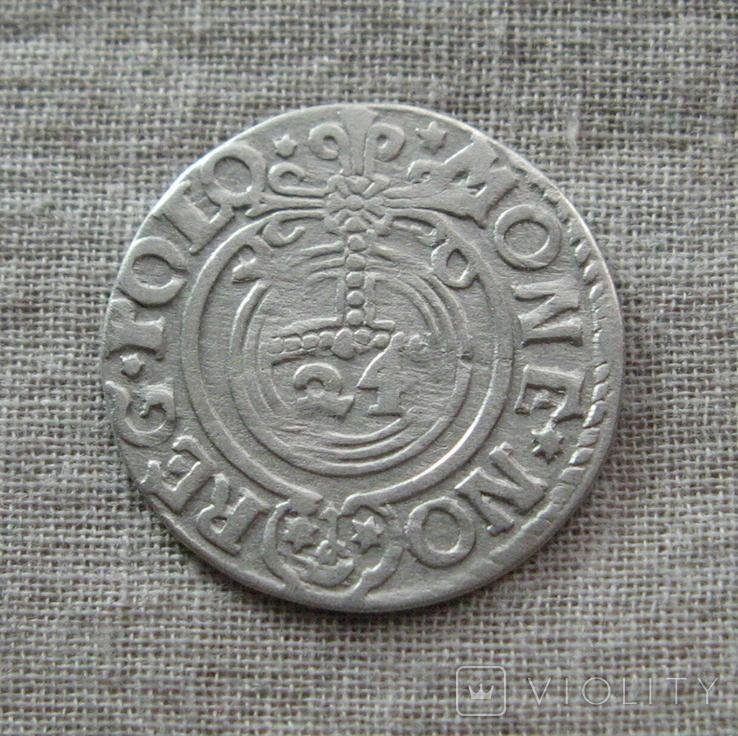Полторак ( 1/24 талера ) 1620 года. Сиг. ІІІ Ваза. P.M(M).D.L., фото №6