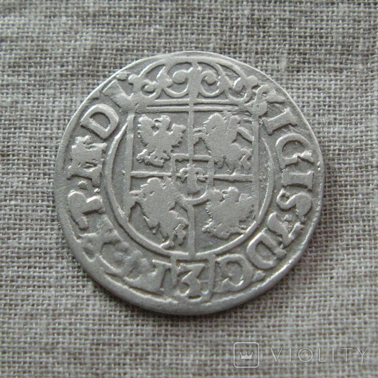 Полторак ( 1/24 талера ) 1620 года. Сиг. ІІІ Ваза. P.M(M).D.L., фото №7