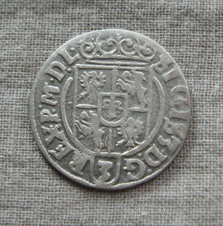 Полторак ( 1/24 талера ) 1626 года. Сиг. ІІІ Ваза. PO(O)LO., фото №4