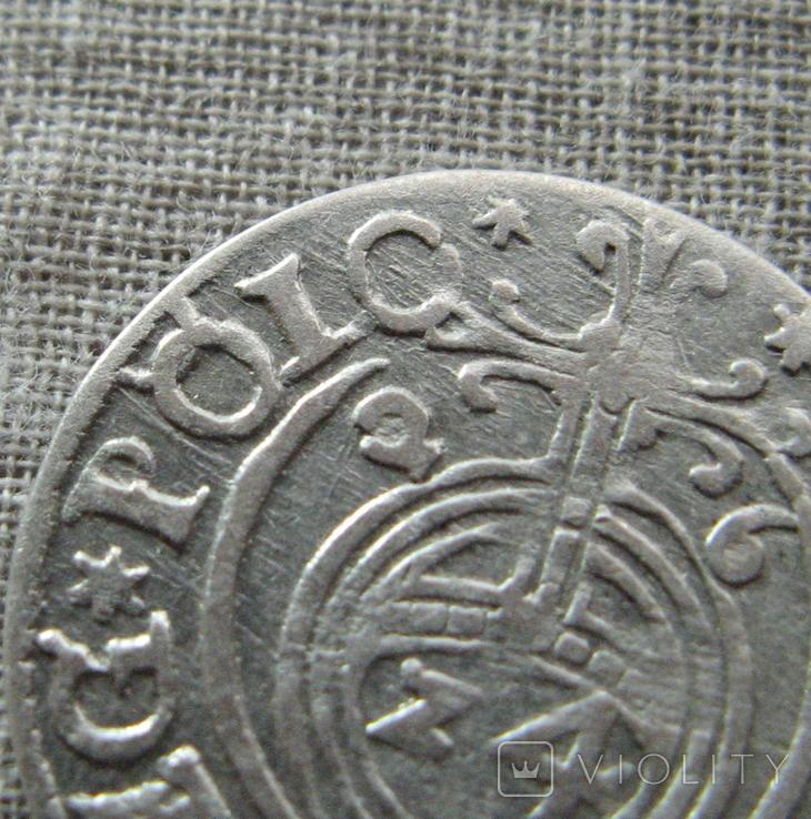 Полторак ( 1/24 талера ) 1626 года. Сиг. ІІІ Ваза. PO(O)LO., фото №5