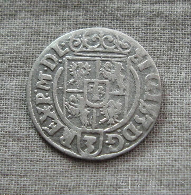 Полторак ( 1/24 талера ) 1626 года. Сиг. ІІІ Ваза. PO(O)LO., фото №7