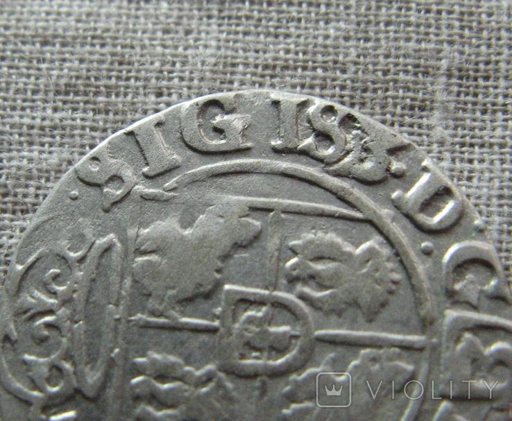 Полторак ( 1/24 талера ) 1625 года. Сиг. ІІІ Ваза. SIGIS3., фото №2
