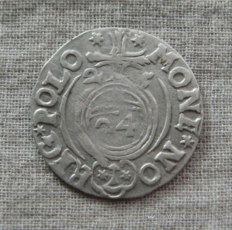 Полторак ( 1/24 талера ) 1625 года. Сиг. ІІІ Ваза. SIGIS3., фото №3