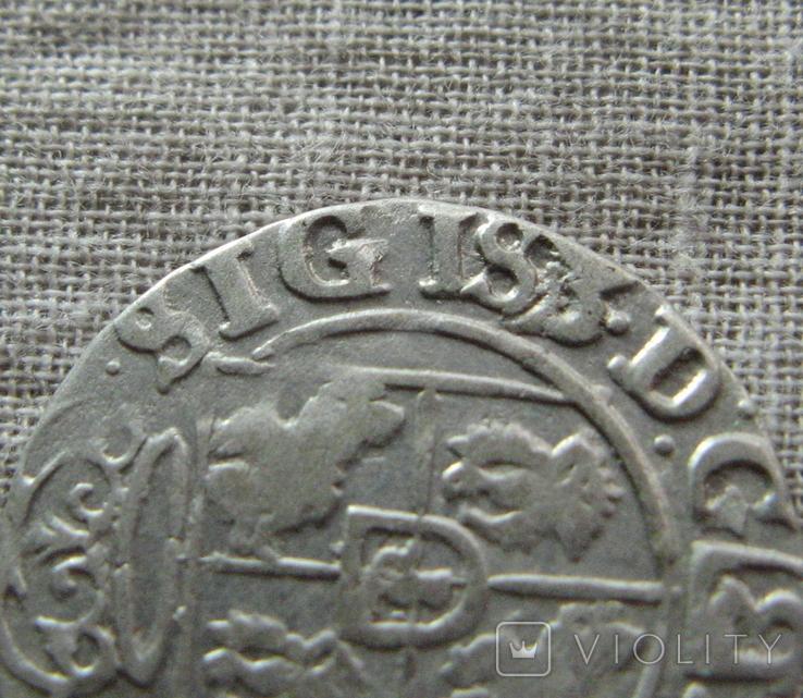 Полторак ( 1/24 талера ) 1625 года. Сиг. ІІІ Ваза. SIGIS3., фото №5