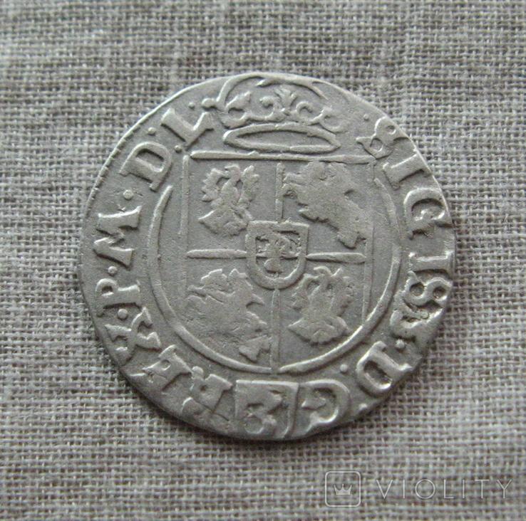 Полторак ( 1/24 талера ) 1625 года. Сиг. ІІІ Ваза. SIGIS3., фото №7