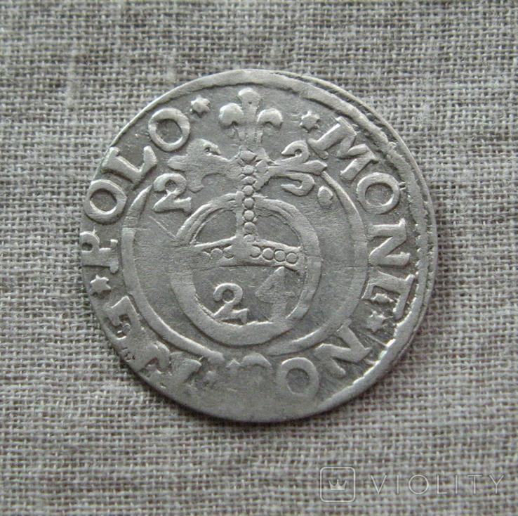 Полторак ( 1/24 талера ) 1621 года. Сиг. ІІІ Ваза., фото №3