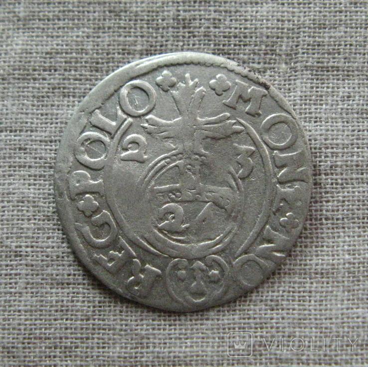 Полторак ( 1/24 талера ) 1623 года. Сиг. ІІІ Ваза. PO(O)LO., фото №3