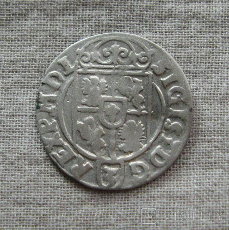 Полторак ( 1/24 талера ) 1623 года. Сиг. ІІІ Ваза. PO(O)LO., фото №4