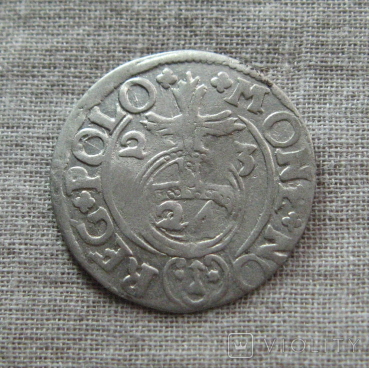Полторак ( 1/24 талера ) 1623 года. Сиг. ІІІ Ваза. PO(O)LO., фото №6