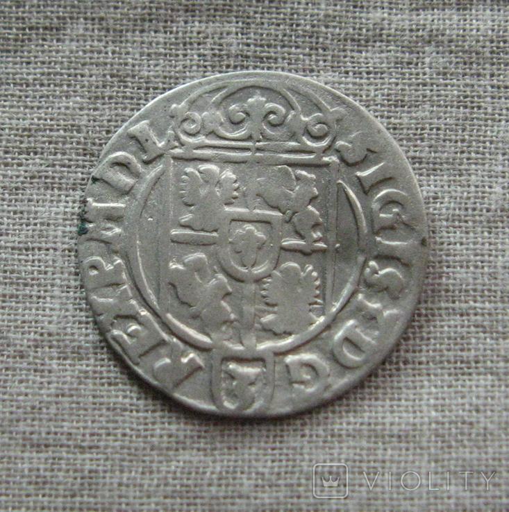 Полторак ( 1/24 талера ) 1623 года. Сиг. ІІІ Ваза. PO(O)LO., фото №7