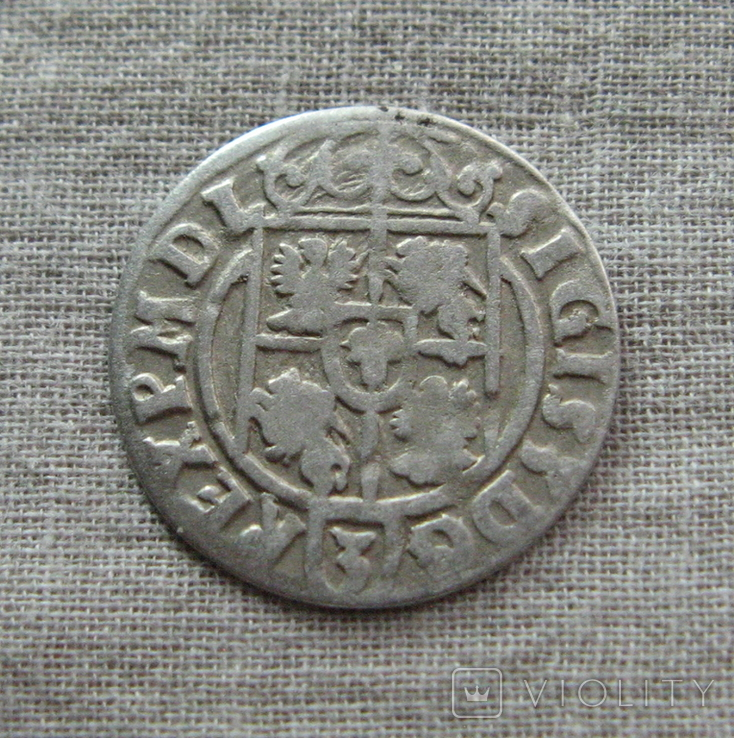 Полторак ( 1/24 талера ) 1623 года. Сиг. ІІІ Ваза. RE(E)G., фото №7