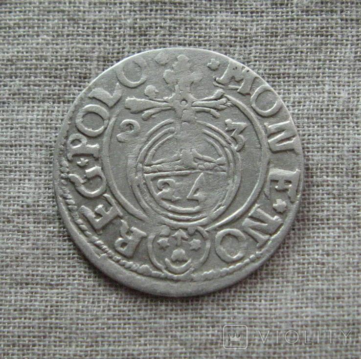 Полторак ( 1/24 талера ) 1623 года. Сиг. ІІІ Ваза., фото №2