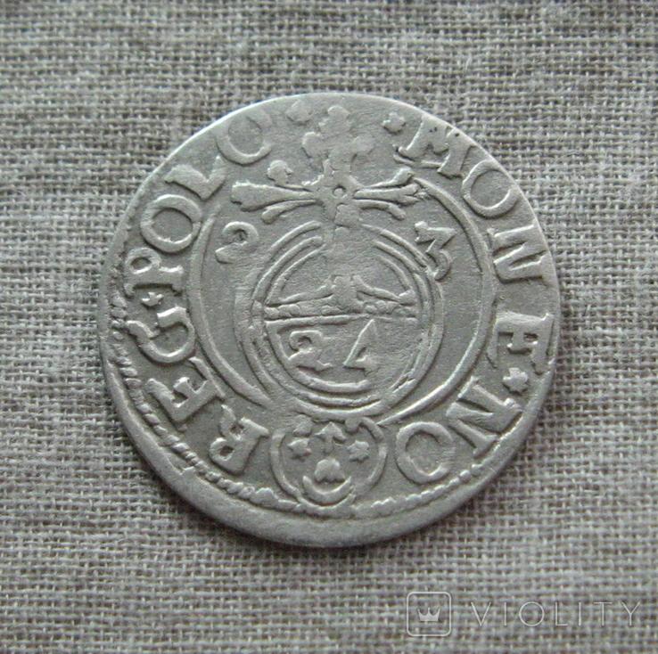 Полторак ( 1/24 талера ) 1623 года. Сиг. ІІІ Ваза., фото №3