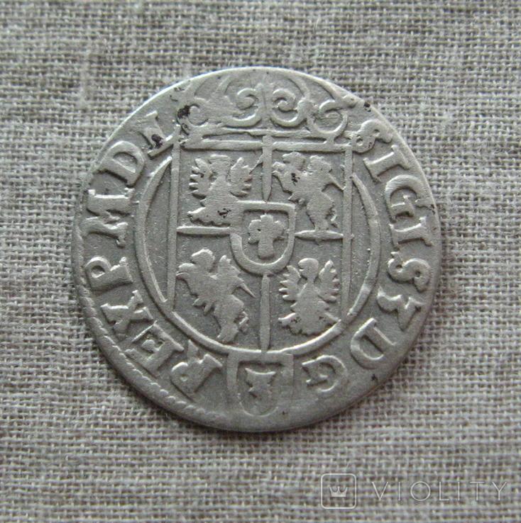 Полторак ( 1/24 талера ) 1623 года. Сиг. ІІІ Ваза., фото №4