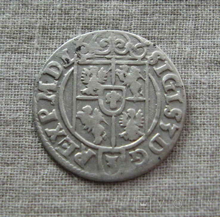 Полторак ( 1/24 талера ) 1623 года. Сиг. ІІІ Ваза., фото №5