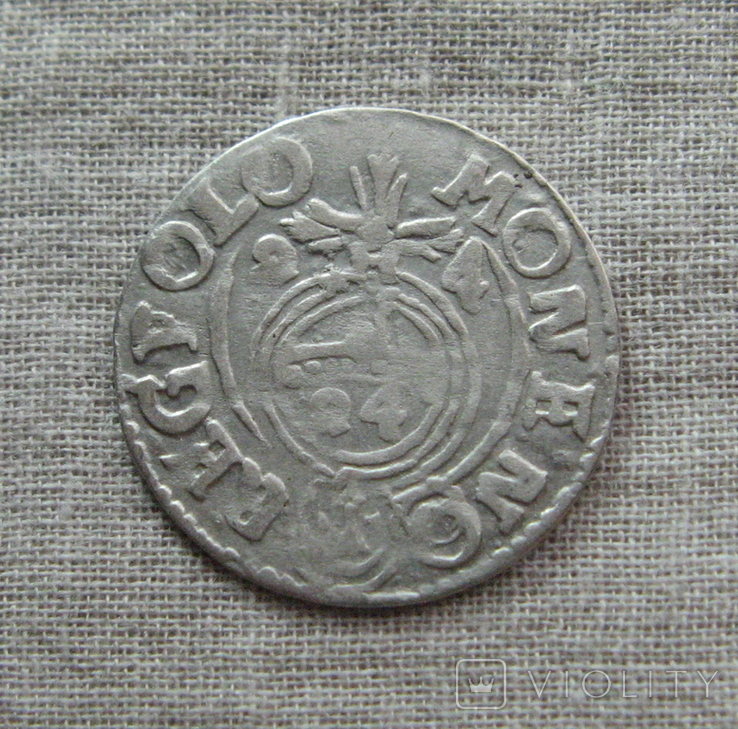 Полторак ( 1/24 талера ) 1624 года. Сиг. ІІІ Ваза. MONE:NO(O)., фото №3