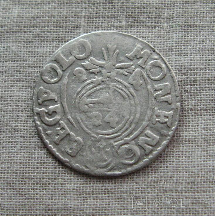 Полторак ( 1/24 талера ) 1624 года. Сиг. ІІІ Ваза. MONE:NO(O)., фото №6