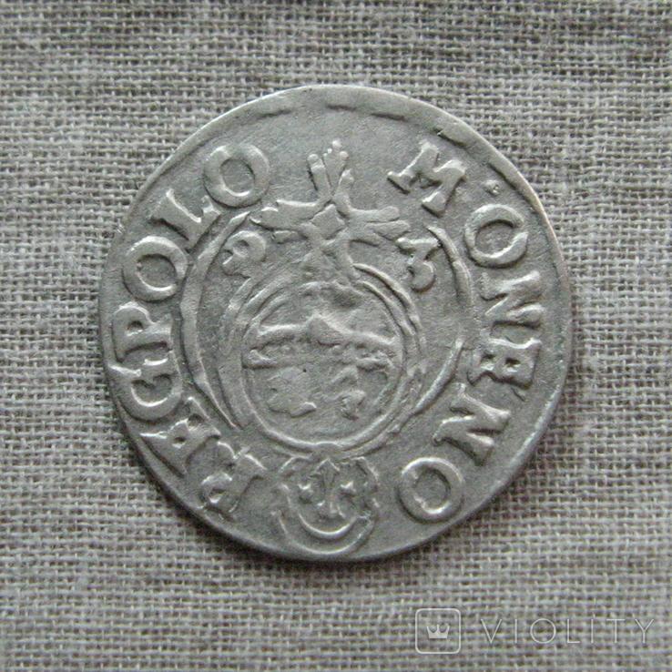 Полторак ( 1/24 талера ) 1623 года. Сиг. ІІІ Ваза. M ' ONENO., фото №3