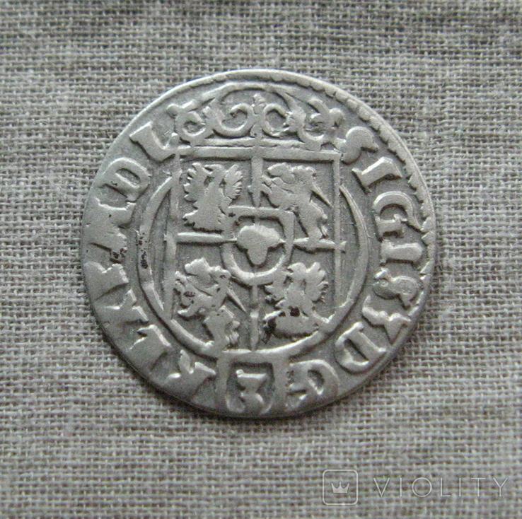 Полторак ( 1/24 талера ) 1623 года. Сиг. ІІІ Ваза. M ' ONENO., фото №7