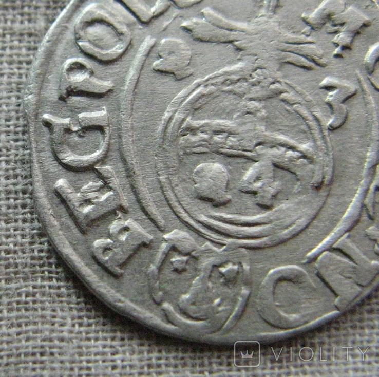 Полторак ( 1/24 талера ) 1623 года. Сиг. ІІІ Ваза. BEG вместо REG., фото №2