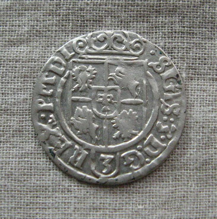 Полторак ( 1/24 талера ) 1626 года. Сиг. ІІІ Ваза. SGIS., фото №5