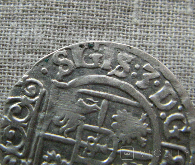 Полторак ( 1/24 талера ) 1626 года. Сиг. ІІІ Ваза. SGIS., фото №6