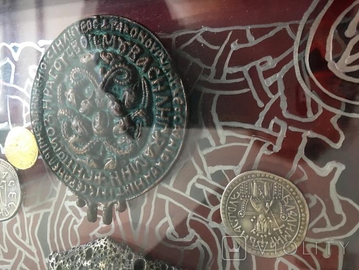 Монети в рамці. Копіі., фото №6