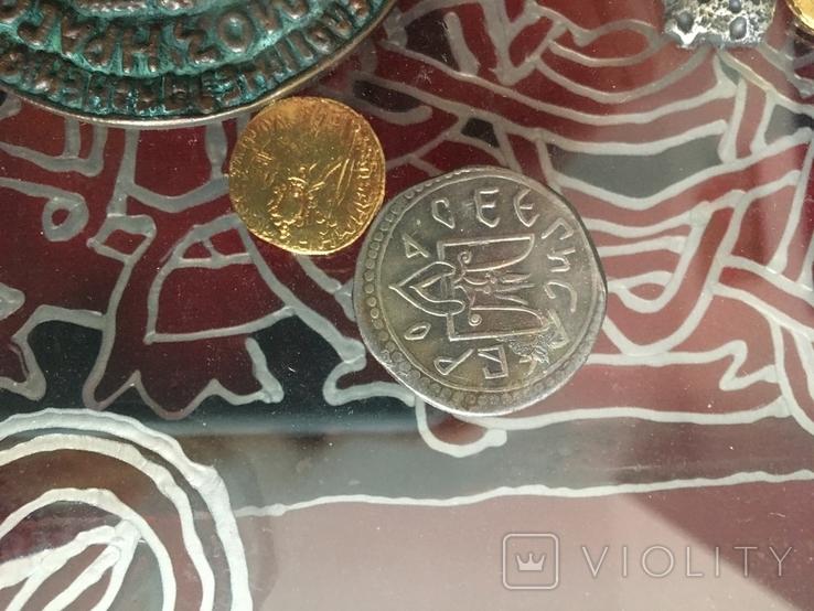 Монети в рамці. Копіі., фото №7