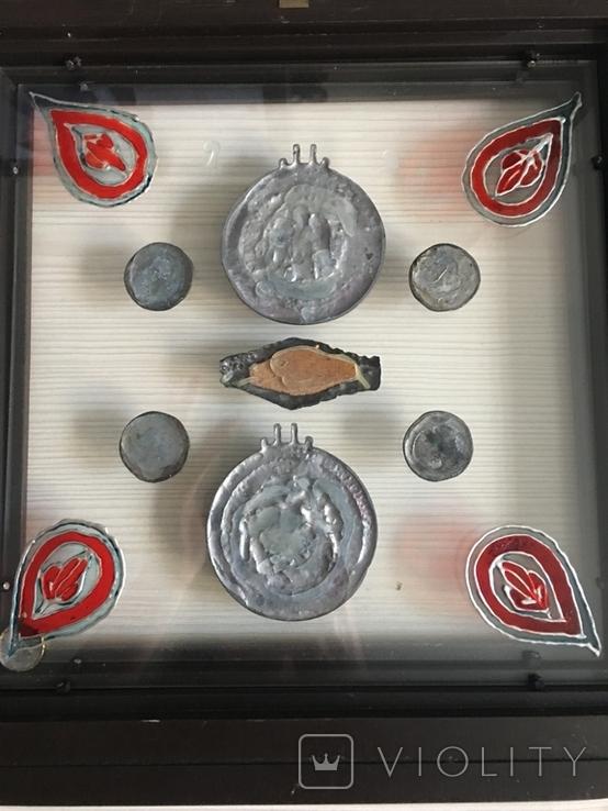 Монети в рамці. Копіі., фото №10