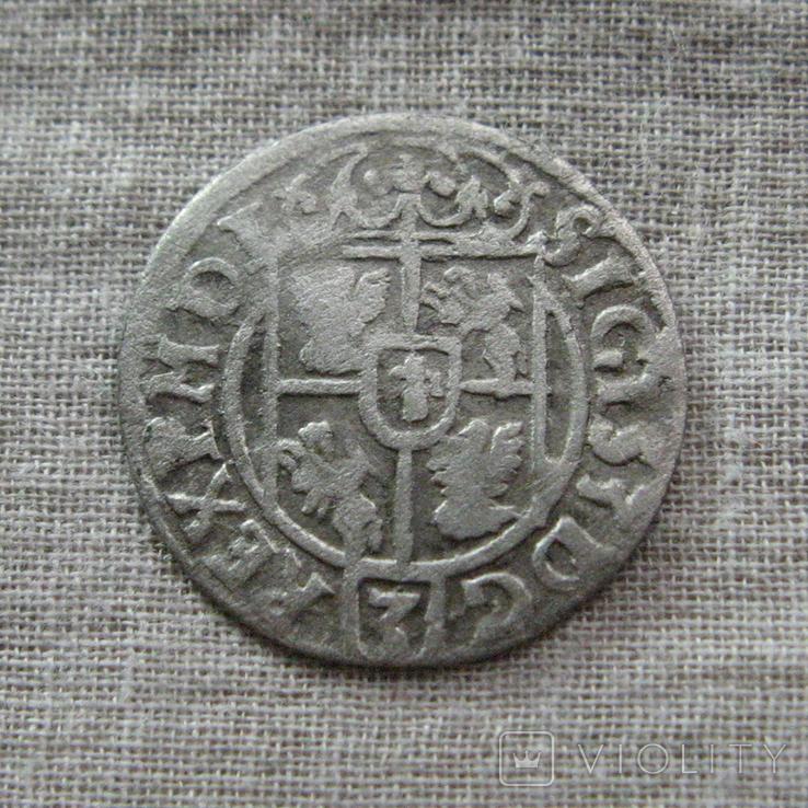 Полторак ( 1/24 талера ) 1622 года. Сиг. ІІІ Ваза. MON . NO., фото №7