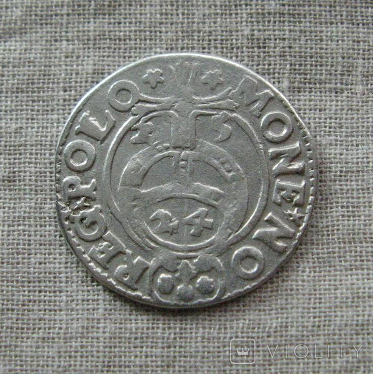Аномальный полторак ( 1/24 талера ) 1625 года. Сиг. ІІІ Ваза. SIGS. Гетьманский полторак., фото №6