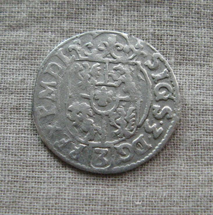 Аномальный полторак ( 1/24 талера ) 1625 года. Сиг. ІІІ Ваза. SIGS. Гетьманский полторак., фото №7