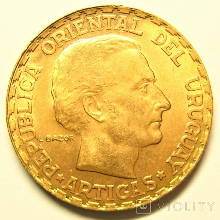 Уругвай 5 песо 1930 г., фото №2